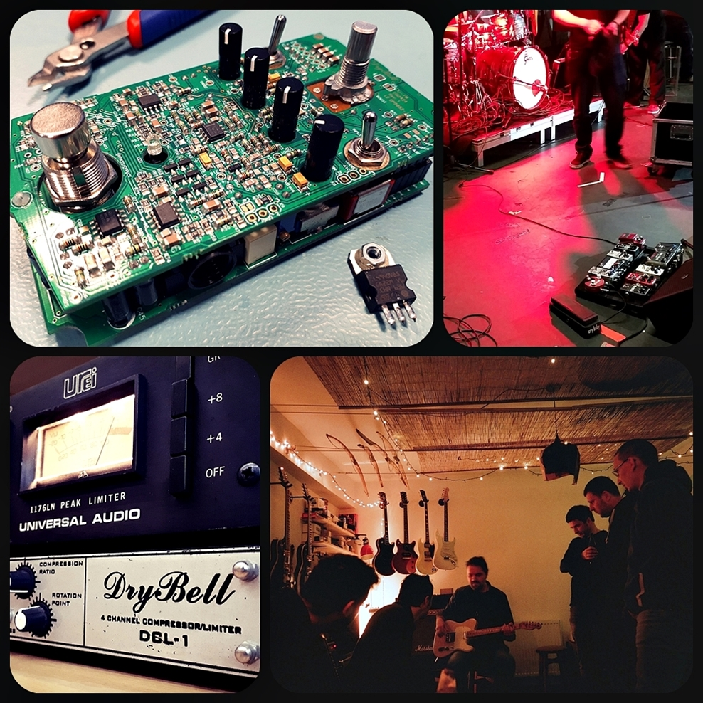 About Drybell Unit67 Dynamic Compressor Self Powered Circuit Design Weve Spent Lots Of Time Creating The Unit67s Visual Identity And We Took Inspiration From 60s Space Consoles Were Really Happy With Result