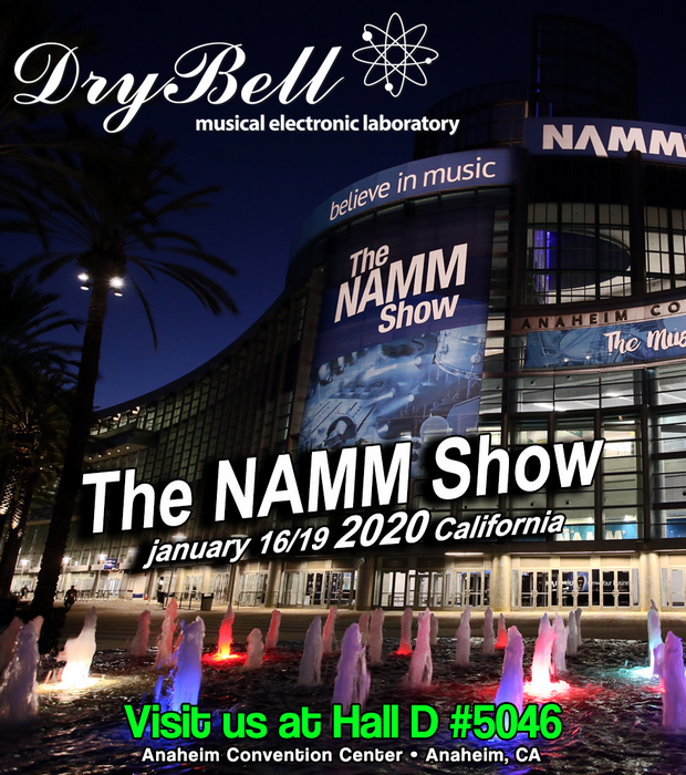 Winter Namm 2020.Drybell News